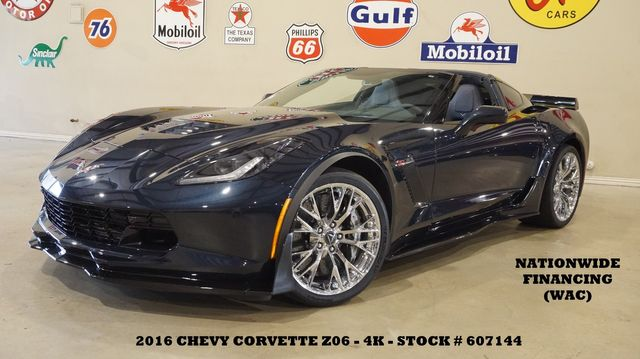 2016 Chevrolet Corvette Z06 3LZ AUTO,Z07 PKG,MSRP 109K,CHROME WHLS,4K
