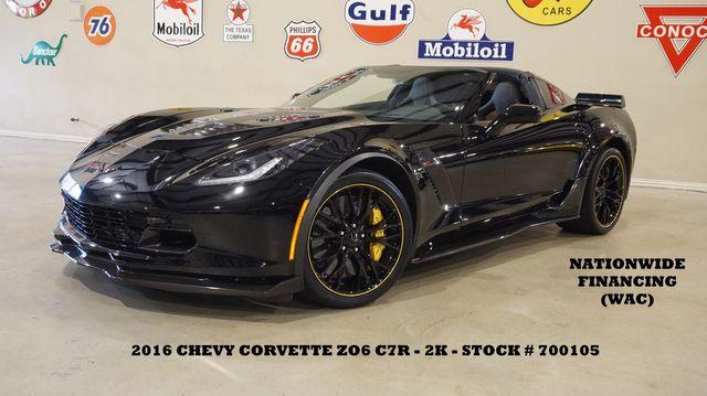 2016 Chevrolet Corvette Z06 3LZ C7.R EDITION MSRP 115K,2K,WE FINANCE