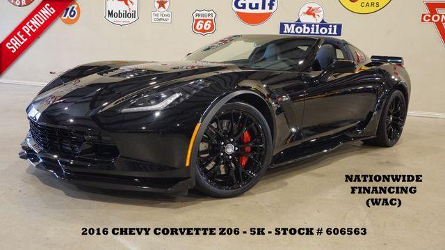 2016 Chevrolet Corvette Z06 3LZ AUTO,NAV,F. CAM,HTD/COOL LTH,BLK WHLS,5K