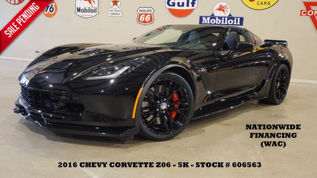 2016 Chevrolet Corvette Z06 3LZ AUTO,NAV,F. CAM,HTD/COOL LTH,BLK WHLS,5K in Carrollton, TX 75006