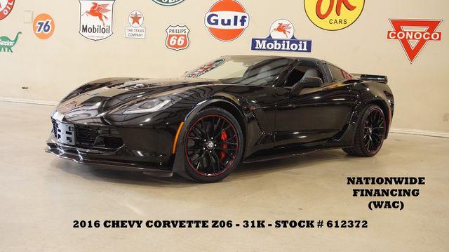 2016 Chevrolet Corvette Z06 3LZ Z07 PKG,MSRP 106K,31K,WE FINANCE in Carrollton, TX 75006