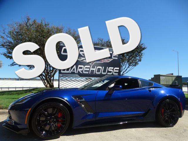 2016 Chevrolet Corvette Z06 3LZ, Z07, NAV, Auto, J57, NPP, Black Alloys 1k | Dallas, Texas | Corvette Warehouse  in Dallas Texas