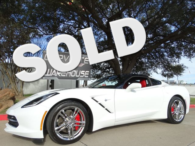 2016 Chevrolet Corvette Coupe 2LT, Auto, NAV, NPP, UQT, Chromes, 34k!   Dallas, Texas   Corvette Warehouse  in Dallas Texas