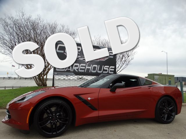 2016 Chevrolet Corvette Coupe Z51, 2LT, Auto, NAV, NPP, Black Alloys 12k! | Dallas, Texas | Corvette Warehouse  in Dallas Texas