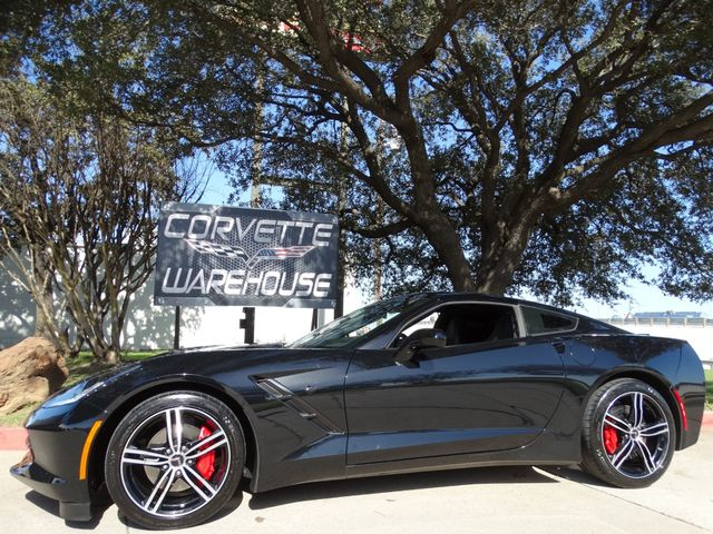 2016 Chevrolet Corvette Coupe Auto, NAV, UQT, EYT, Black Alloys 26k!  | Dallas, Texas | Corvette Warehouse  in Dallas Texas