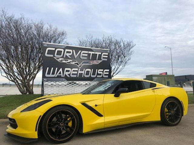 2016 Chevrolet Corvette Coupe Z51, 2LT, FE4, NAV, NPP, Black Alloys, NICE! | Dallas, Texas | Corvette Warehouse  in Dallas Texas
