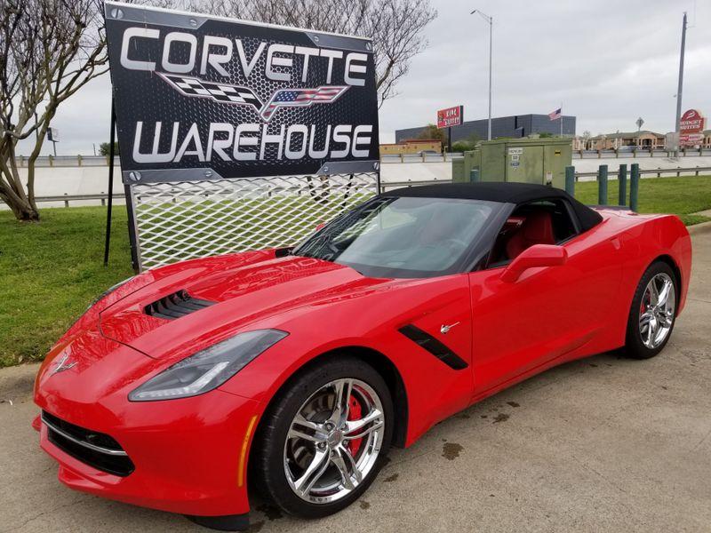 2016 Chevrolet Corvette Convertible 2LT, Auto, NAV, NPP, Chrome Wheels 32k | Dallas, Texas | Corvette Warehouse