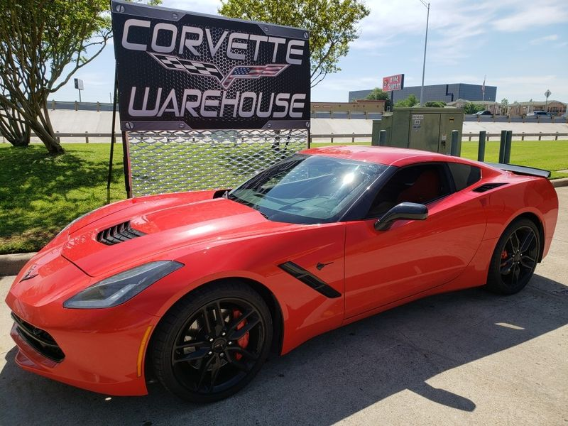 2016 Chevrolet Corvette Coupe  Z51, 2LT, NAV, NPP, FE4, Black Wheels 22k! | Dallas, Texas | Corvette Warehouse