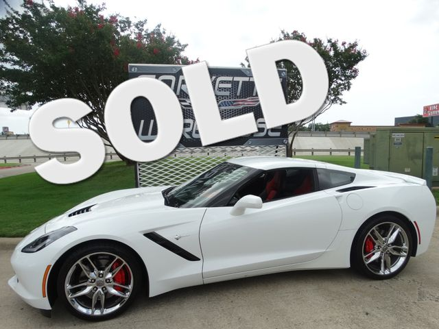 2016 Chevrolet Corvette Z51, 3LT, Auto, NAV, NPP, NICE!   Dallas, Texas   Corvette Warehouse  in Dallas Texas