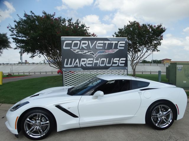 2016 Chevrolet Corvette Coupe 1LT, Automatic, Mylink, Chrome Wheels 21k!   Dallas, Texas   Corvette Warehouse  in Dallas Texas