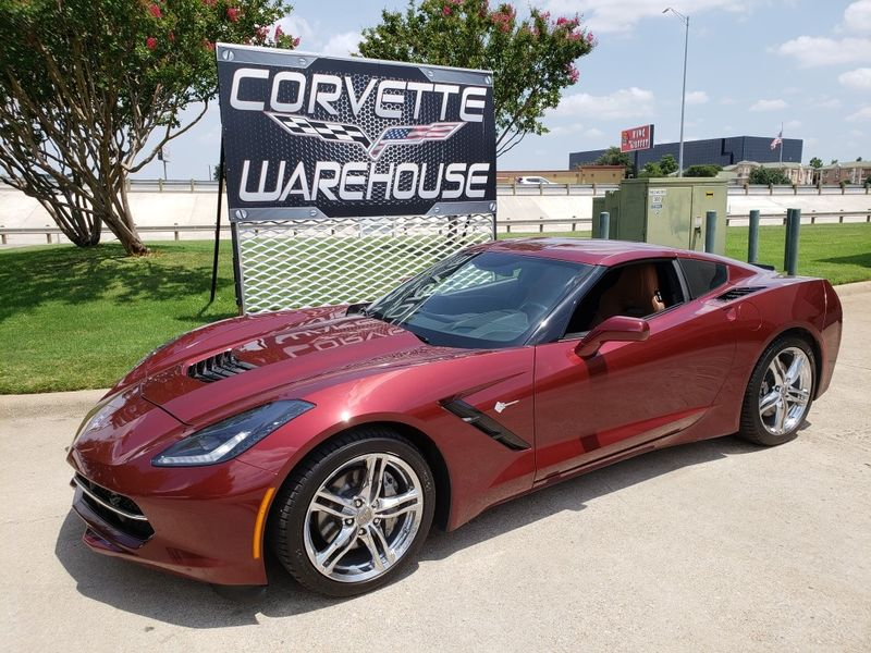 2016 Chevrolet Corvette Coupe 2LT, NAV, NPP, UQT, Auto, Chromes, Only 46k! | Dallas, Texas | Corvette Warehouse