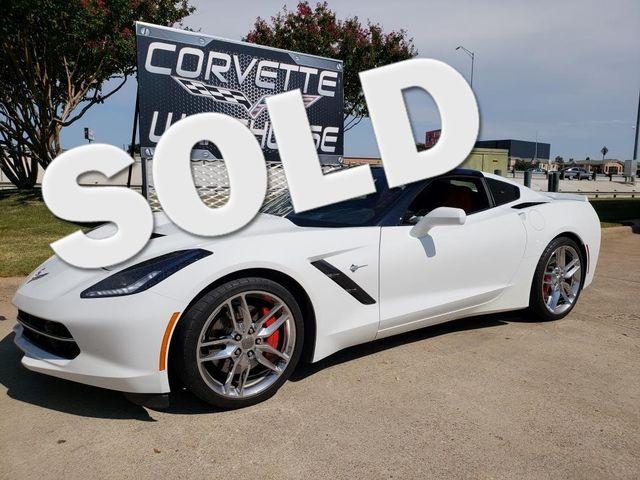 2016 Chevrolet Corvette Coupe Z51, 2LT, Auto, NAV, NPP, UQT, Chromes 30k! | Dallas, Texas | Corvette Warehouse  in Dallas Texas