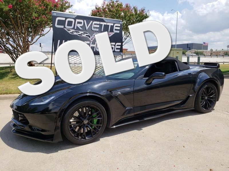 2016 Chevrolet Corvette Z06 Convertible 2LZ, NAV, NPP, Black Alloys 15k! | Dallas, Texas | Corvette Warehouse