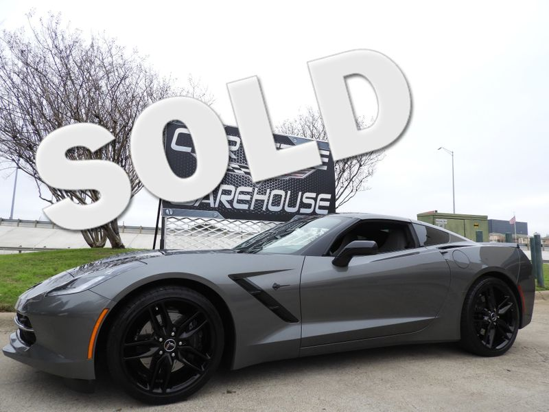 2016 Chevrolet Corvette Coupe Z51, 3LT, NPP, NAV, Auto, Carbon Top, 42k!    Dallas, Texas   Corvette Warehouse