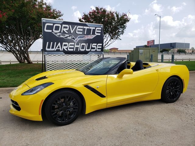2016 Chevrolet Corvette Convertible 3LT, NAV, NPP, Auto, Black Alloys 48k in Dallas, Texas 75220