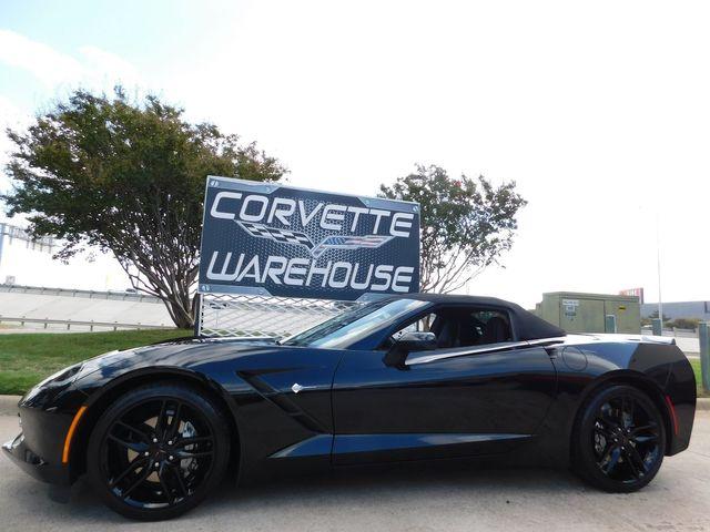 2016 Chevrolet Corvette Conv. 3LT, FE2, NAV, IWE, Auto, Black Alloys 3k in Dallas, Texas 75220