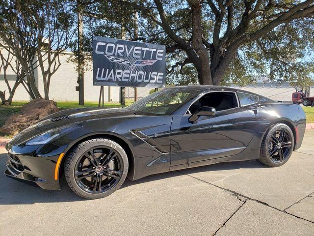 2016 Chevrolet Corvette Coupe Mylink, Automatic, Black Alloys 66k