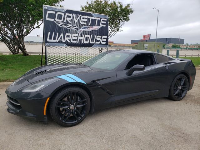 2016 Chevrolet Corvette Coupe Z51, NPP, 7-Speed, MyLink, Black Alloys 74k