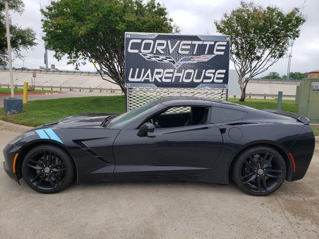 2016 Chevrolet Corvette Coupe Z51, NPP, 7-Speed, MyLink, Black Alloys 74k in Dallas, Texas 75220