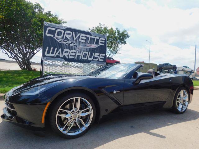 2016 Chevrolet Corvette CONV Z51, 3LT, NAV, NPP, IWE, Auto, Chromes 22k