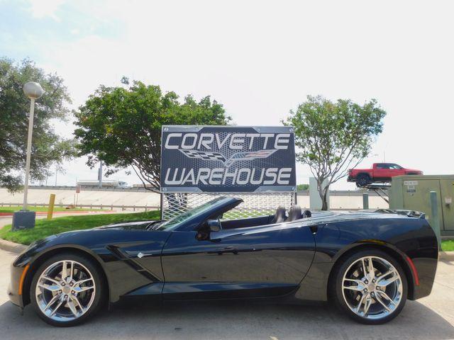 2016 Chevrolet Corvette CONV Z51, 3LT, NAV, NPP, IWE, Auto, Chromes 22k in Dallas, Texas 75220
