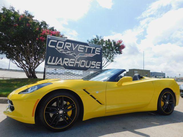 2016 Chevrolet Corvette CONV Z51, 2LT, NAV, NPP, PDR, Auto, Blk Alloys 6k