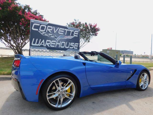 2016 Chevrolet Corvette Conv 2LT, ZF1, FE2, NAV, PDR, Auto, Chromes 14k in Dallas, Texas 75220