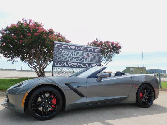 2016 Chevrolet Corvette CONV, Z51 2LT, NAV, PDR, NPP, Auto, Blk Alloys 19k