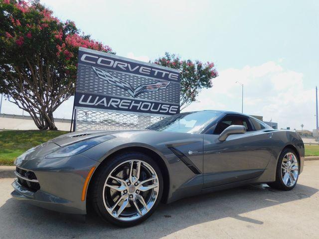 2016 Chevrolet Corvette Coupe Z51, 2LT, FE4, NAV, NPP, PDR, Chromes 11k in Dallas, Texas 75220