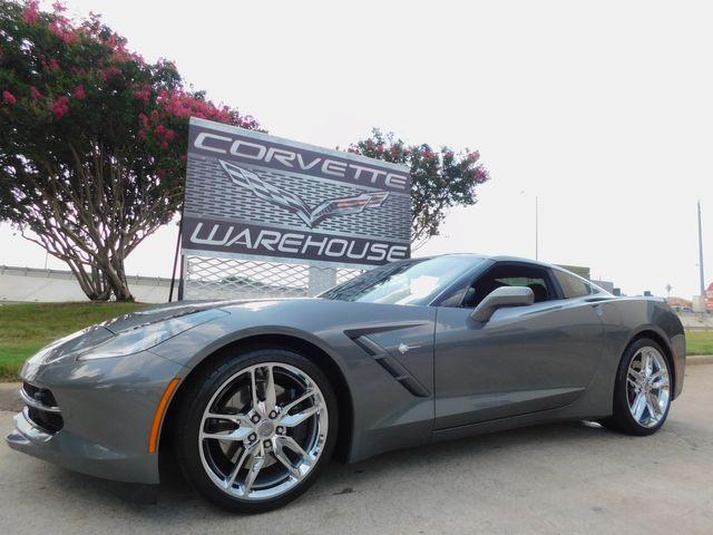 2016 Chevrolet Corvette Coupe Z51, 2LT, NPP, PDR, Auto, Chrome Wheels 9k in Dallas, Texas 75220