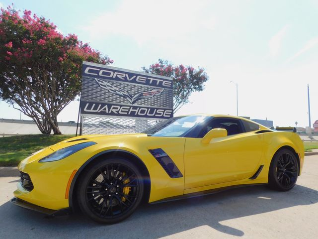 2016 Chevrolet Corvette Z06 2LZ, NAV, NPP, PDR, Auto, Black Alloys 28k