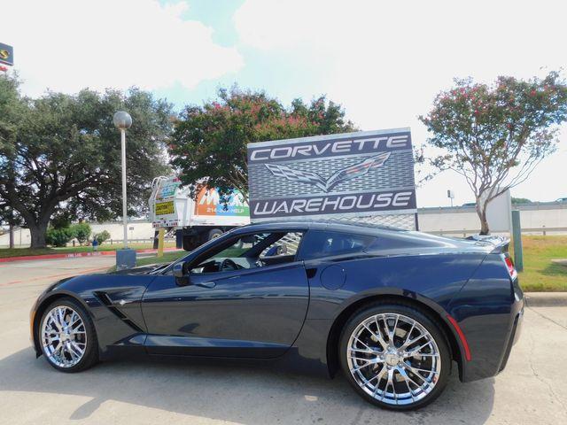 2016 Chevrolet Corvette Coupe Z51, 2LT, FE4, NAV, NPP, Z06 Chromes 6k in Dallas, Texas 75220