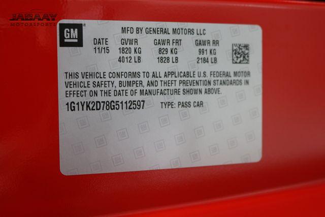 2016 Chevrolet Corvette Z51 2LT Merrillville, Indiana 52