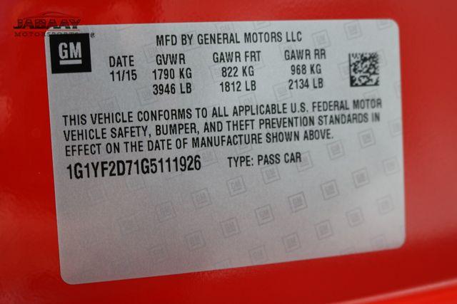 2016 Chevrolet Corvette 3LT Merrillville, Indiana 50