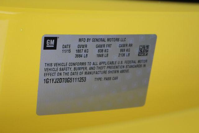 2016 Chevrolet Corvette Z51 2LT - NAV - CARBON FIBER! Mooresville , NC 53