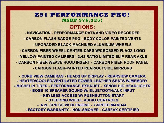 2016 Chevrolet Corvette Z51 2LT - NAV - CARBON FIBER! Mooresville , NC 1