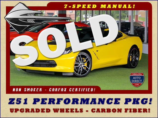 2016 Chevrolet Corvette Z51 2LT - NAV - CARBON FIBER! Mooresville , NC 0