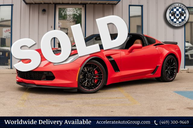 2016 Chevrolet Corvette Z06 2LZ NAV LEATHER CLEAN CARFAX 1 OWNER NO ISSUES in Rowlett