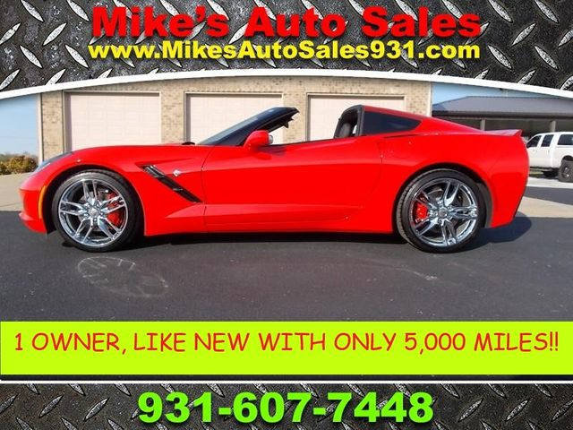 2016 Chevrolet Corvette 1LT Shelbyville, TN