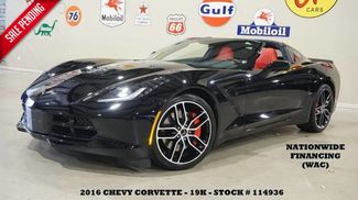 2016 Chevrolet Corvette Stingray Coupe Z51 2LT AUTO,HUD,NAV,F&R CAM,HTD/COOL LTH,19K! in Carrollton TX, 75006