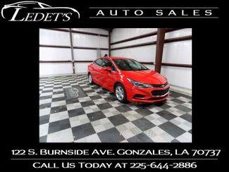 2016 Chevrolet Cruze LT - Ledet's Auto Sales Gonzales_state_zip in Gonzales