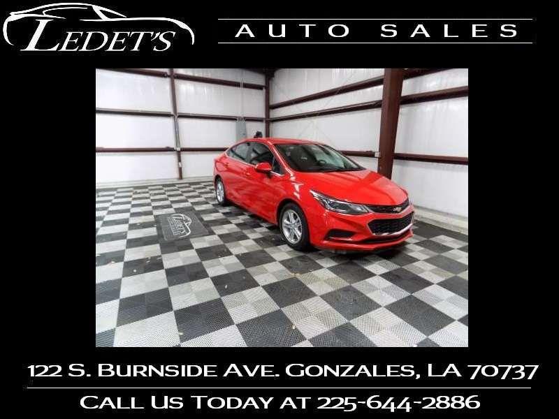 2016 Chevrolet Cruze LT - Ledet's Auto Sales Gonzales_state_zip in Gonzales Louisiana