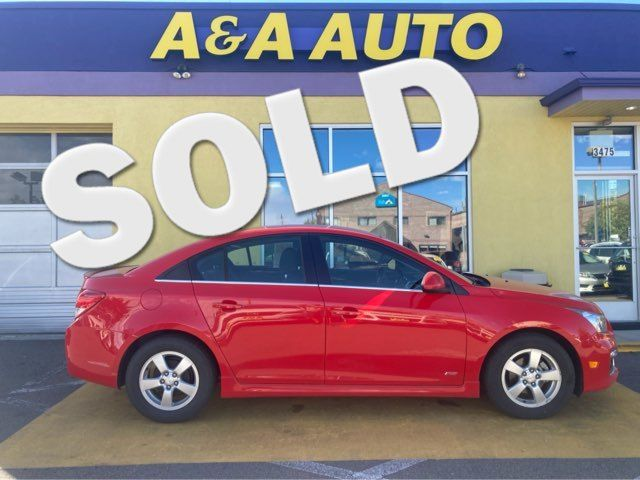 2016 Chevrolet Cruze Limited LT in Englewood, CO 80110