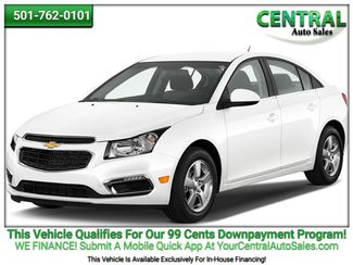 2016 Chevrolet Cruze Limited LT   Hot Springs, AR   Central Auto Sales in Hot Springs AR