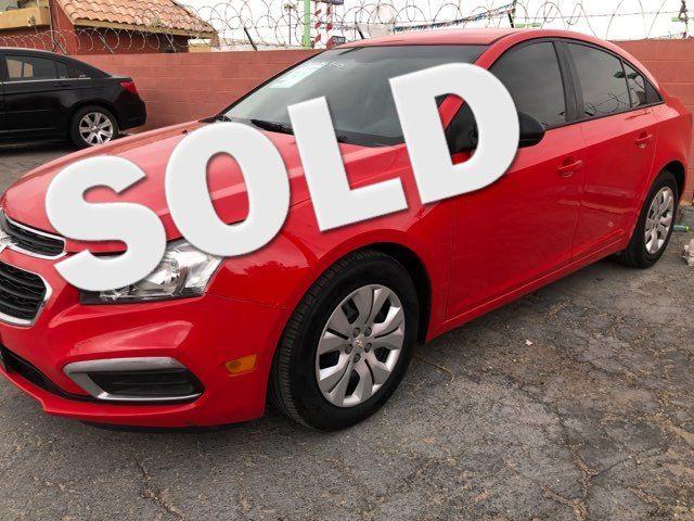 2016 Chevrolet Cruze Limited LS CAR PROS AUTO CENTER (702) 405-9905 Las Vegas, Nevada