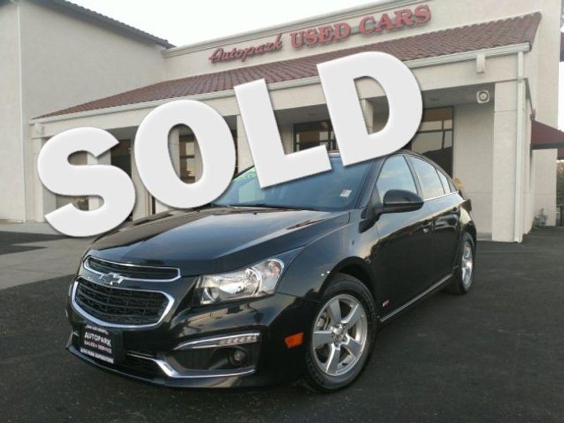 2016 Chevrolet Cruze Limited LT   San Luis Obispo, CA   Auto Park Sales & Service in San Luis Obispo CA