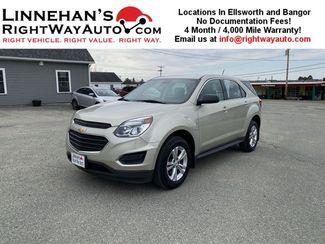 2016 Chevrolet Equinox LS in Bangor, ME 04401