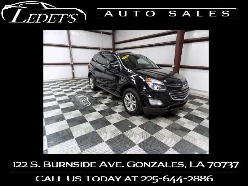 2016 Chevrolet Equinox LT - Ledet's Auto Sales Gonzales_state_zip in Gonzales Louisiana