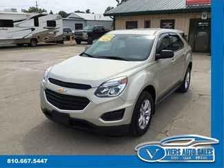 2016 Chevrolet Equinox LS in Lapeer, MI 48446