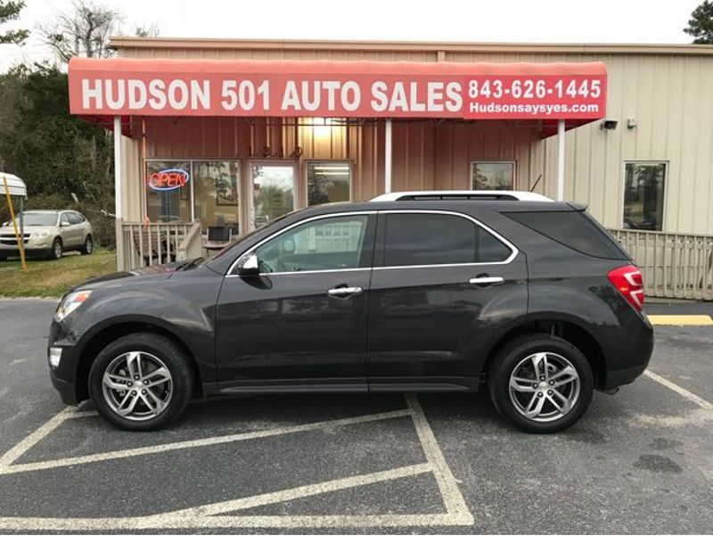 2016 Chevrolet Equinox LTZ | Myrtle Beach, South Carolina | Hudson Auto Sales in Myrtle Beach South Carolina